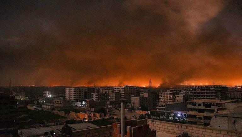 صورة الأردن تنفي قصف مواقع للأسد من أراضيها