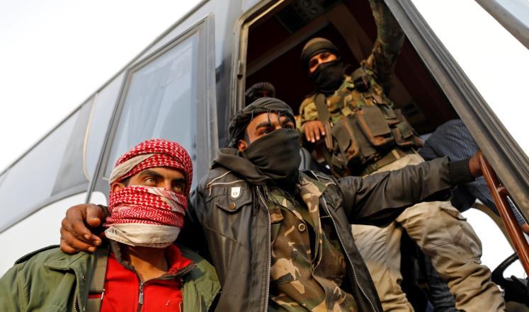 صورة اتفاق جديد لإجلاء المعارضة من ريف دمشق
