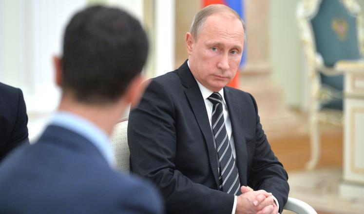 صورة عرض بيع..3 إغراءات لبوتين مقابل الأسد