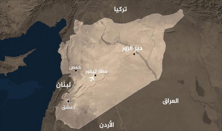 صورة مصادر أميركية: إسرائيل قصفت قاعدة التيفور