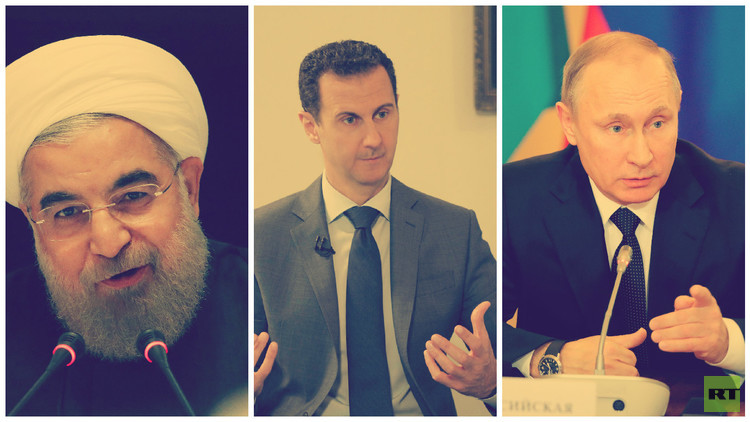 صورة د.فيصل القاسم: لا تراهنوا على الطلاق بين روسيا وإيران!