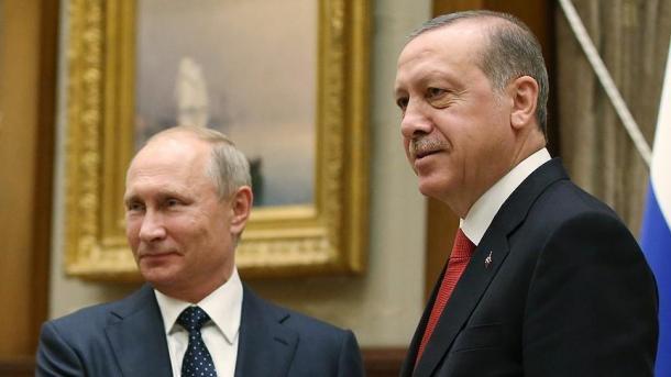 صورة أردوغان لبوتين: تسليم عفرين للأسد موقف خاطئ جداً