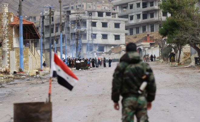 صورة تفاصيل اتفاق تهجير البلدات الثلاث جنوب دمشق