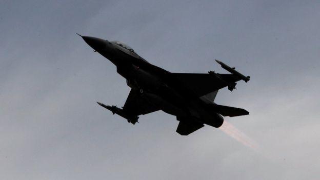 صورة ضربات عسكرية دولية ضد مواقع للأسد