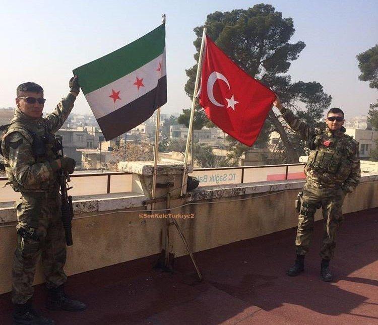 صورة ما وراء الصمت الأمريكي على الانتشار التركي بسوريا؟