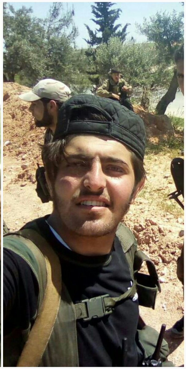 """صورة مقتل نجل قائد """"صقور الشام"""" على يد تحرير الشام"""