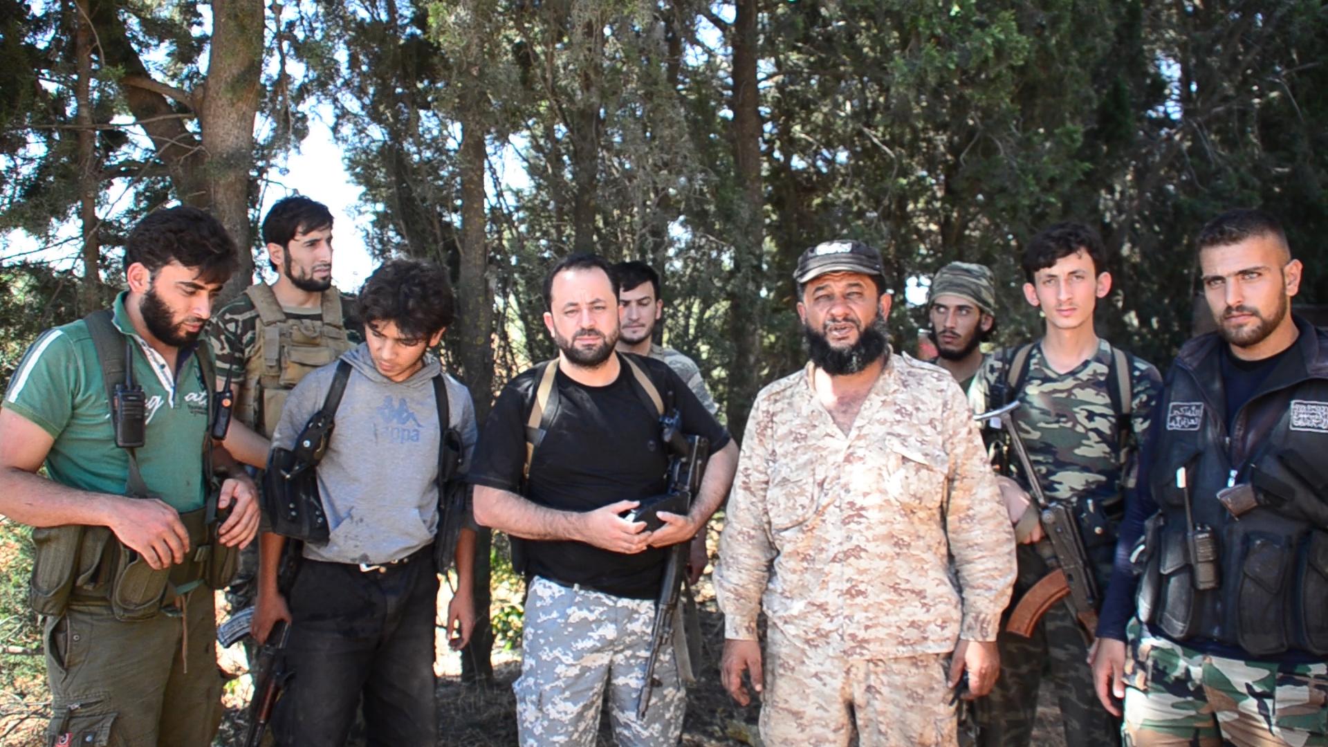 """صورة ما أسباب استقالة قائد """"الجبهة الشامية"""" بحلب؟"""