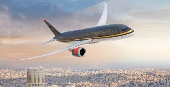 صورة طيار أردني ينقذ مسافرين من كارثة حقيقية