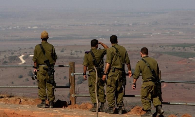 صورة صحف عبرية..معركة مرتقبة قرب الجولان