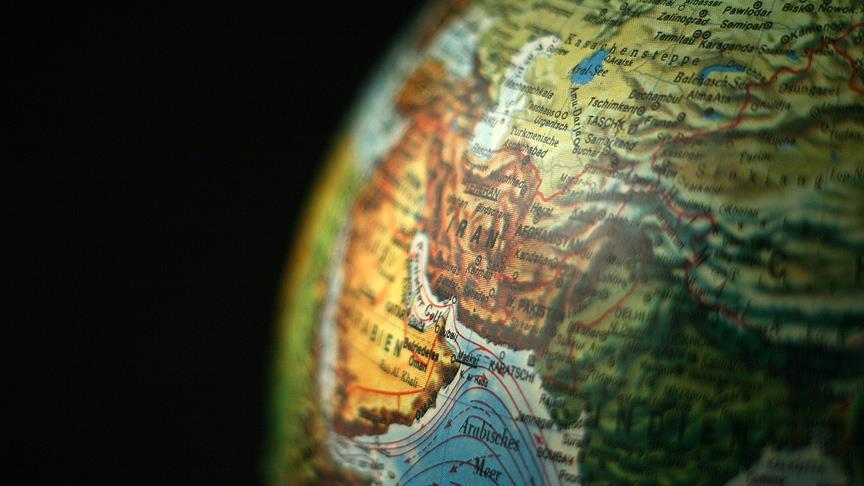 صورة زلزال بقوة 5.5 درجات يضرب جنوبي إيران
