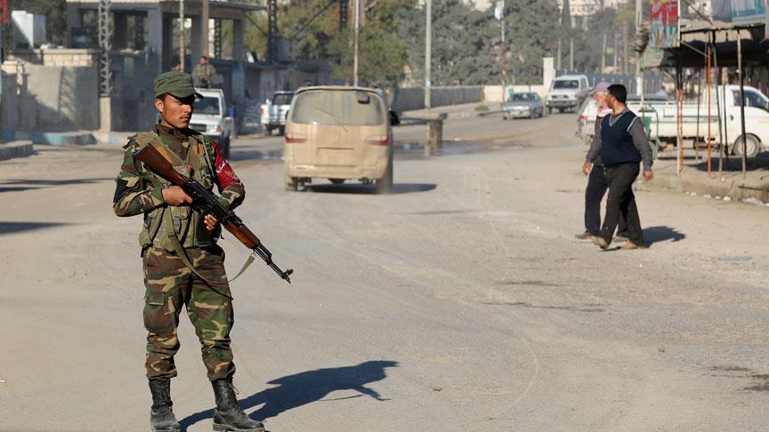 صورة الشرطة العسكرية تباشر مهامها في عفرين