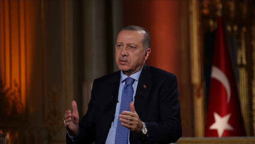 """صورة أردوغان: التهديد يأتينا أولا من واشنطن لتقديمها السلاح مجانا لـ""""بي كا كا"""""""