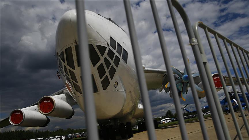 صورة مقتل 180 بتحطم طائرة نقل عسكرية جزائرية