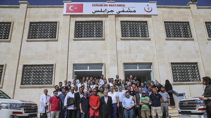 """صورة تركيا تفتتح مراكز خدمية وطبية في """"درع الفرات"""""""