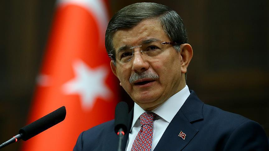 صورة داود أوغلو يدعم أردوغان في الانتخابات الرئاسية