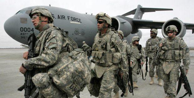 صورة سوريا..طائرة أمريكية تنقل جنود لجهة مجهولة