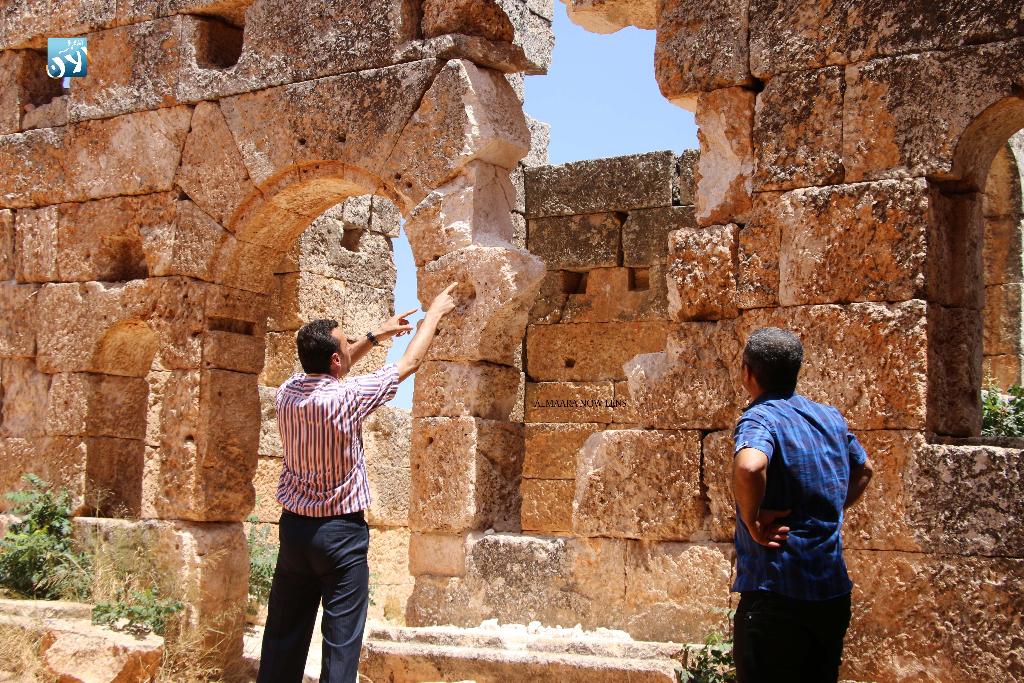 """صورة """"حكومة الإنقاذ"""" تمنع تنقيب الآثار في إدلب"""