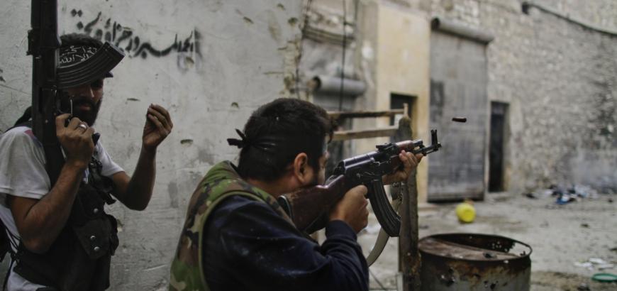 صورة درعا..مواجهات مباشرة بين الحر وتنظيم الدولة