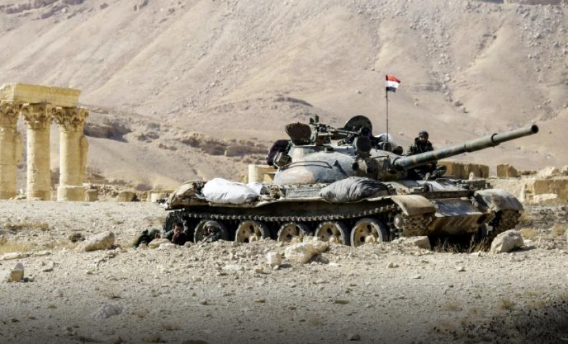 صورة البادية..التحالف الدولي يستهدف موقعين للأسد