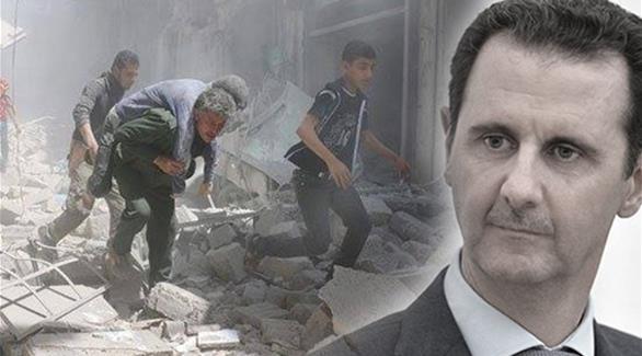 """صورة المعسكر الصهيوني: مصلحتنا """"بقاء الأسد"""""""