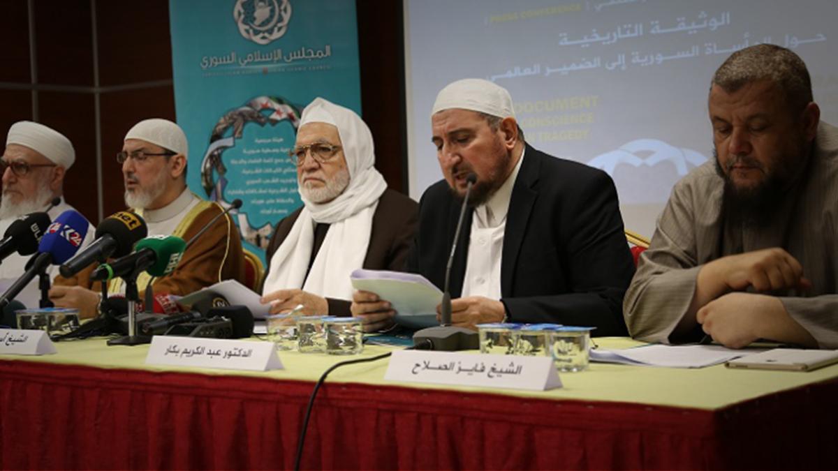 صورة الإسلامي السوري وإصلاح شأن الثورة