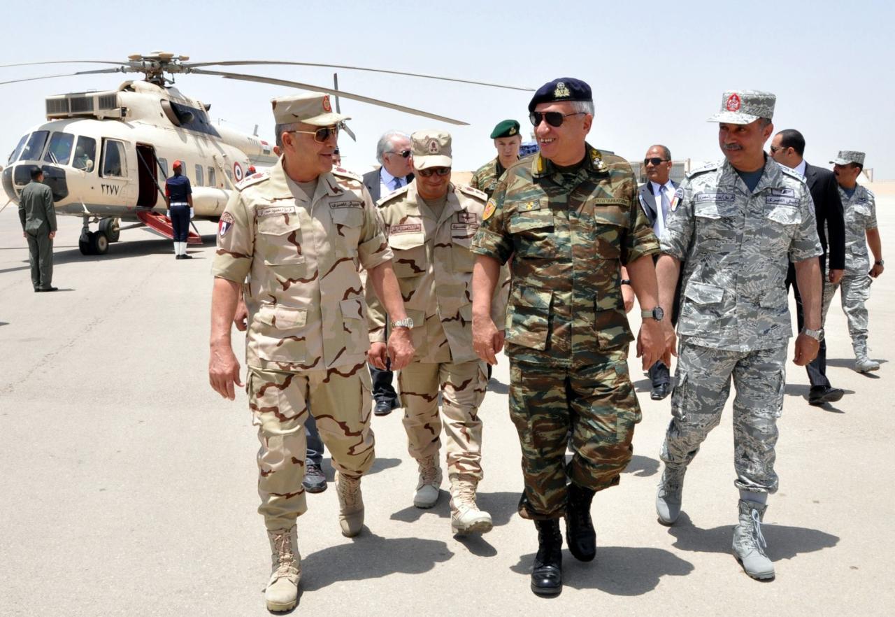 """صورة مصر..إرسال قوات عربية لسوريا """"وارد"""""""