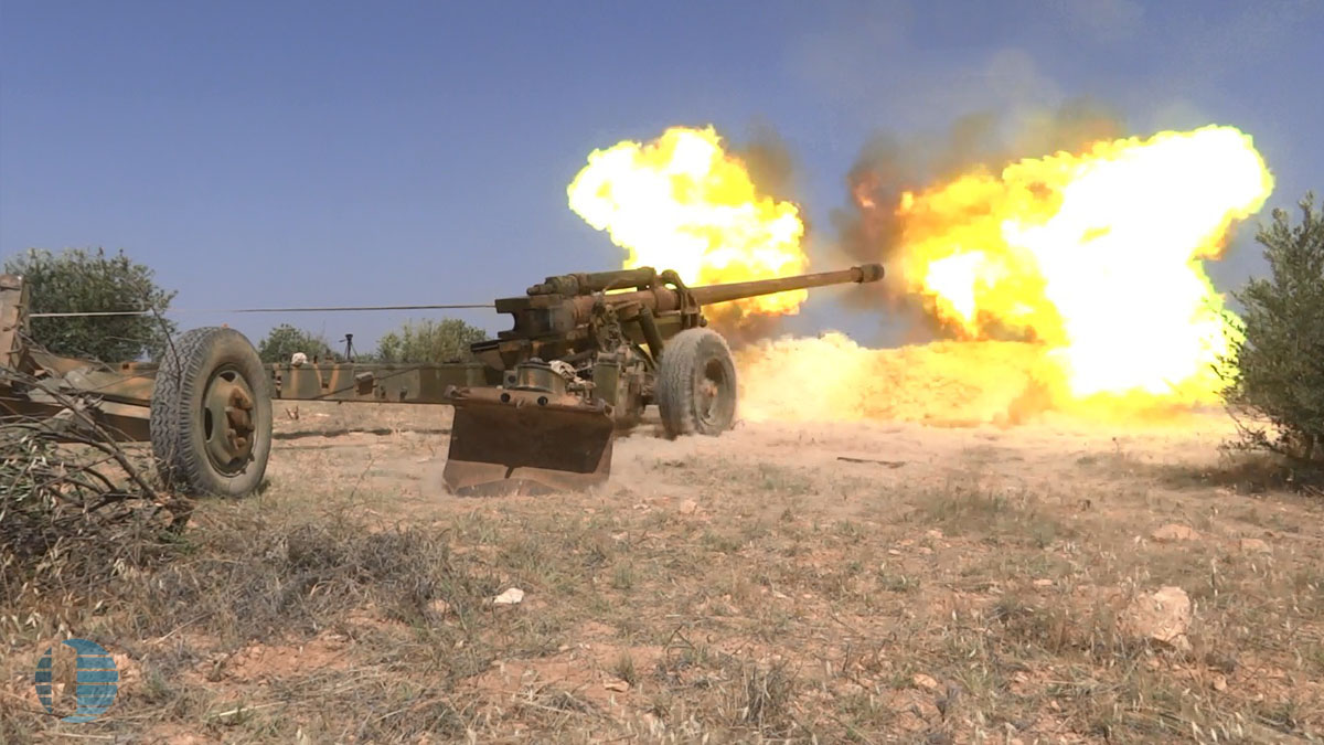 """صورة حمص..روسيا تمهل """"الحر"""" شهراً لتسليم سلاحه الثقيل"""