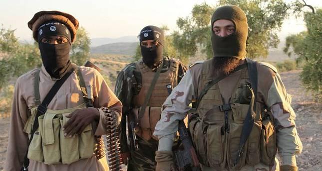 صورة القبض على مجموعة لداعش بينهم تونسي