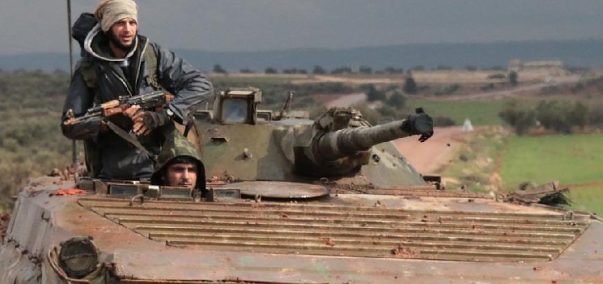 """صورة داعش جنوب دمشق يشارك بمعارك """"جيش خالد"""" بدرعا"""