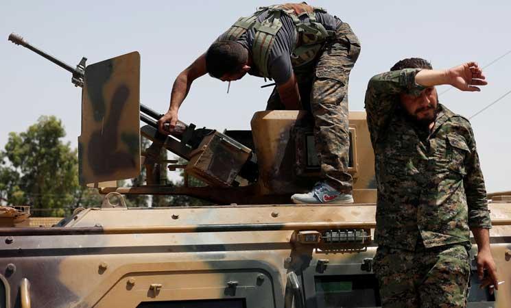 صورة قسد وتأمين نفوذ التحالف الدولي بسوريا
