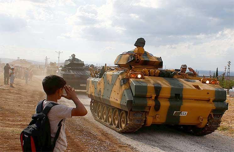 صورة انتهاء تأسيس نقاط المراقبة التركية شمال سوريا