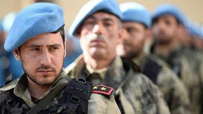 """صورة انتشار الشرطة """"الحرة"""" في عفرين بحلب"""