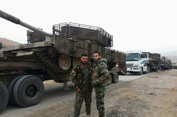 صورة 4 فرق عسكرية للأسد تتجمع على أسوار درعا