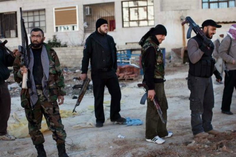 """صورة جرحى مدنيون برصاص """"الشبيحة"""" في حلب"""