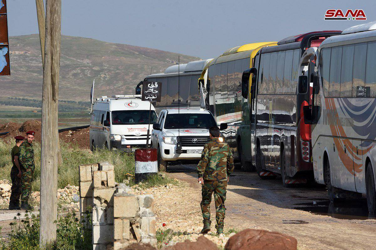 """صورة الأمم المتحدة: لسنا طرفا باتفاق """"كفريا-مخيم اليرموك"""""""