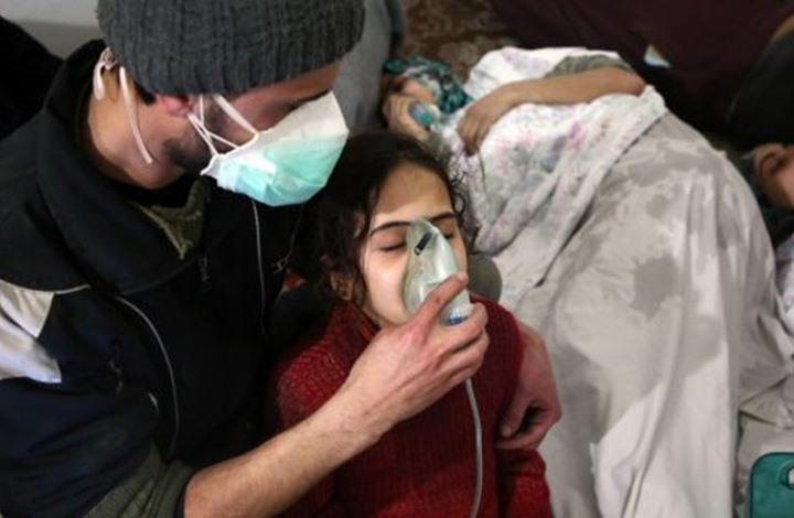 صورة سوريا بين التسمم الكيميائي والتلاعب السياسي