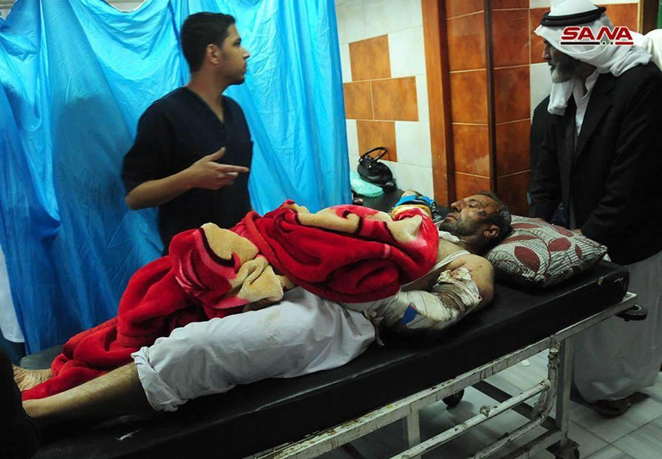 صورة تفجيرات دمشق..28 ما بين قتيلا وجريحا