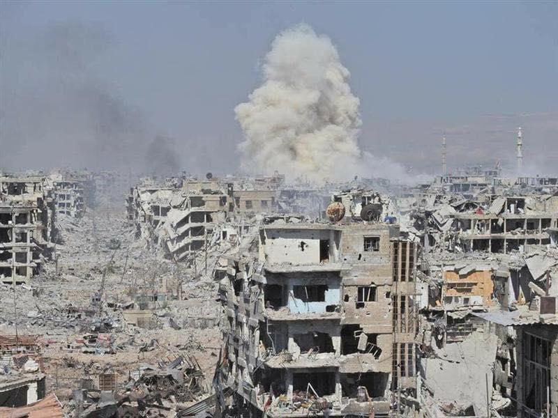 صورة روسيا والأسد..والتفاوض مع الإرهاب