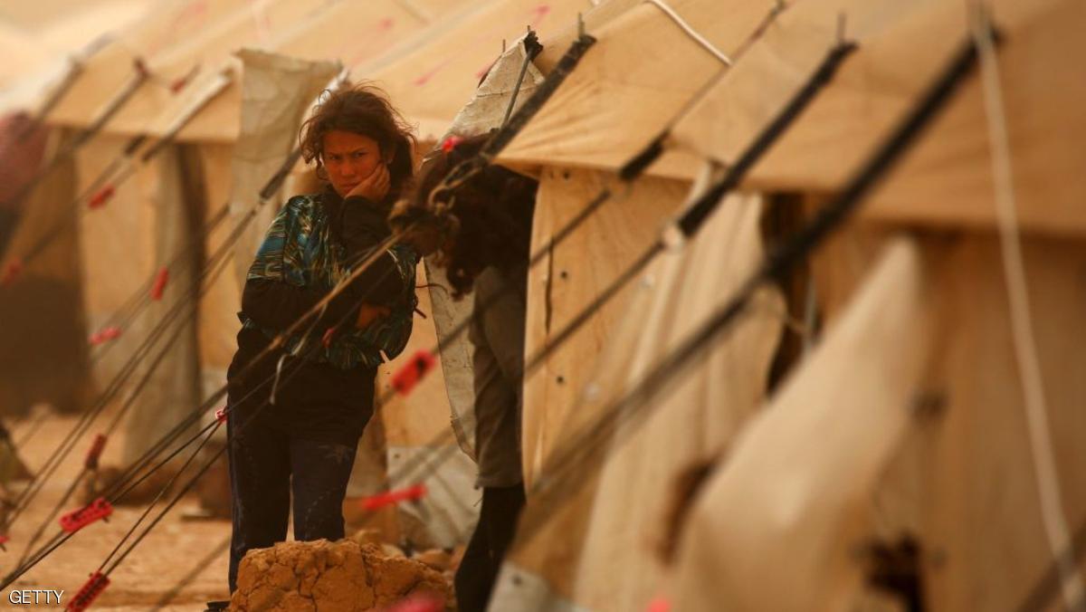 صورة مخيمات دير الزور.. الكوليرا تقتل عشرة مدنيين