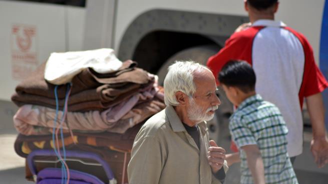 صورة النظام يتقدم جنوب دمشق والتهجير مستمر