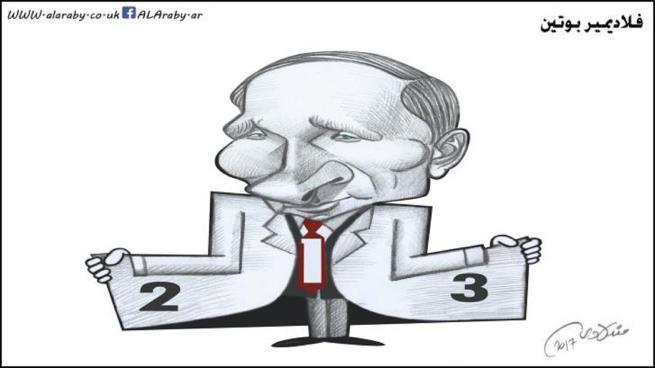 صورة بوتين ليس قيصرنا