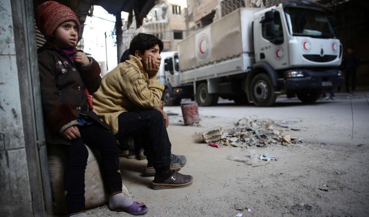 صورة إغاثة الشعب السوري..البنوك تجعلها مستحيلة