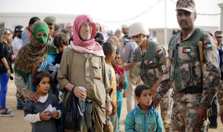 صورة مساعدات يابانية طارئة للاجئين السوريين بالأردن
