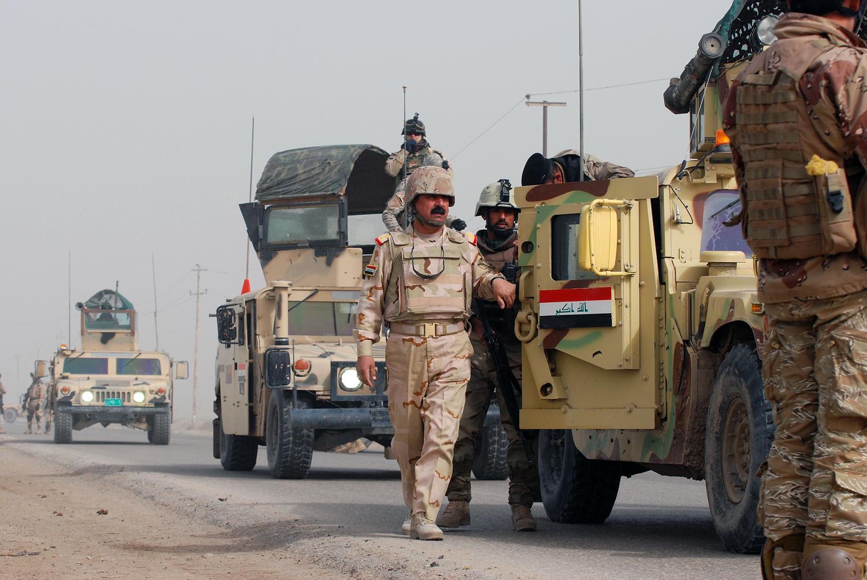 """صورة البحث عن """"بيت مال تنظيم الدولة"""" بالموصل"""