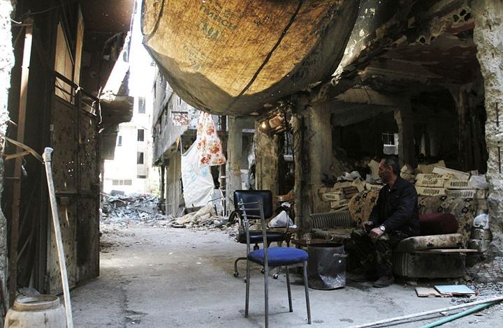 صورة مخيم اليرموك..رمز لمأساة الفلسطينين ووحشية الحرب