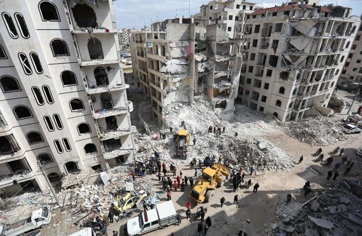 صورة ريغار: إعادة إعمار سوريا.. آخر انتصارات النظام السوري