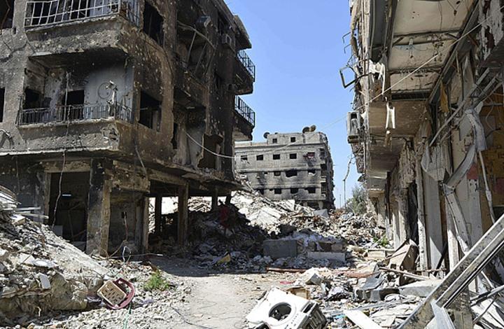 صورة هكذا صار مخيم اليرموك مقبرة للفلسطينيين بسوريا