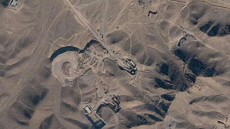 """صورة """"أنشطة غير طبيعية"""" في موقع نووي إيراني"""