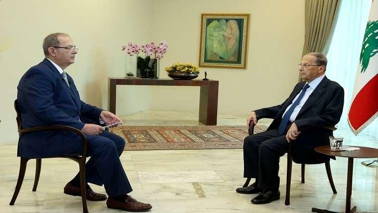 صورة عون: حزب الله بسوريا جزء من توازن القوى!