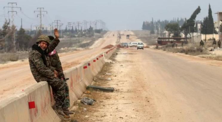 صورة مفاوضات تركية روسية لفتح طريق حلب-غازي عنتاب